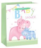 赤ん坊の使用のための非常にかわいい3Dポップアップギフトの紙袋