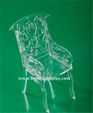 明確なアクリルのプラスチック折りたたみ椅子(BTR-Q3018)