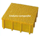 Grating moldado GRP/FRP com Grating de Coverd