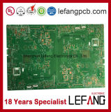 1.6mm PCB 2개의 층 OSP Fr4 안전 전시 회로판