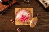 Verse Bloemen van de Fles van de Wens van Ivenran de Lichtgevende voor Aanwezige de Dag van de Creatieve Valentijnskaart