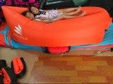 キャンプのソファーベッド屋外のLamzatのためのバナナの寝袋Lamzaces