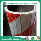 Avertissement de garage imperméable à l'eau rouge-blanc pour l'avertissement de garage côté anti-rayures