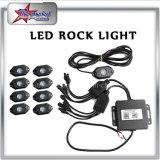 8 Felsen-Licht Hülse-InstallationssatzIP68 9W Underbody RGB-LED