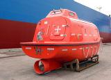 Solas, der schloß genehmigt wurde total, Tanker verwendetes Fall-Rettungsboot ein
