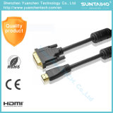 1.4V를 가진 1080P를 위한 금에 의하여 도금되는 플러그 HDMI 케이블
