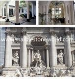 Corrimani di marmo naturali del granito di asta della ringhiera di pietra/dell'inferriata