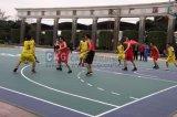 Cag, das pp.-materiellen im Freien InnenBasketballplatz-Bodenbelag blockiert