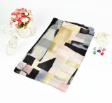 Luxury Style Colorful Irregular der Dame Geometrie gedruckter Silk Schal 2016