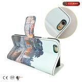 Крышка случая телефона 7 бумажника книги Flip кожи PU