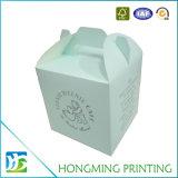 Contenitore impaccante di formati di colore della stampa di torta differente del cartone