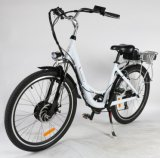 Dame Cross City Electric Bicycle mit Rahmen der Aluminiumlegierung-700c