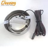 すべての家具のための円形の鋼鉄LEDキャビネットライト
