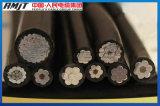 Cable del ABC, cable liado aéreo, 0.6/1 kilovoltios (IEC502, BS 7870-5)