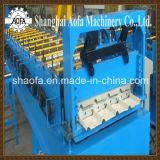 PPGIの鋼鉄屋根シートの台形ロール前の作成機械
