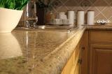 Bancadas artificiais da pedra de quartzo para a cozinha