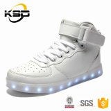 LEIDEN van nieuwe Unisex- LEIDENE van het Ontwerp Sneakes van Schoenen Licht op de Toevallige Schoenen van de Mensen van Schoenen