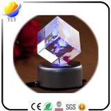 Decorações da tabela da gravura do cristal