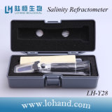 Salinometer material do metal de Lohand 0-28% do fornecedor de China (LH-Y28)