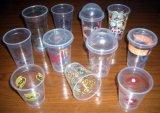 Coperchio piano di plastica del caffè del coperchio del latte del coperchio della cupola del coperchio che forma macchina (model-500)