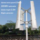 генератор ветра 1000W для вертикального Axies с 4 лезвиями белыми