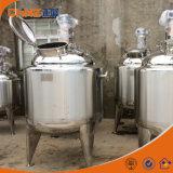 Mezclador industrial del mezclador del alimento del tanque de la chaqueta doble sanitaria 2000L