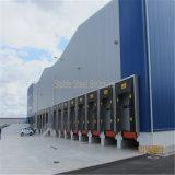 Construction pré construite de structure métallique pour la logistique et le loyer en vente