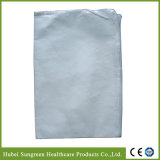 Cobertura de travesseiro não-tecido microporoso, capa de travesseiro com fecho de correr