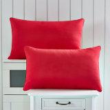 熱い販売の柔らかく快適なビロードの枕Microfiberの枕