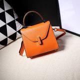 Lederne Schulter-Beutel Emg4916 der kundenspezifischen einfachen Form-Handtaschen-Hersteller-Frauen