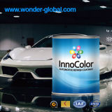Automobile tournant la peinture blanche arctique de cristal liquide