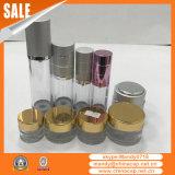 Vaso crema di vetro di vendita calda con il coperchio di alluminio