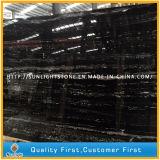 Brames argentées noires de marbre de dragon de la Chine pour des carrelages et Worktops