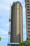 De Kraan van de Toren van de bouw met de Lading van het Uiteinde van 1.93tons