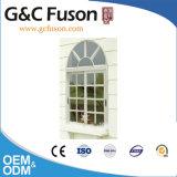 Finestra di alluminio della stoffa per tendine di colore bianco rivestito della polvere per residenziale