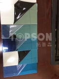 201/304/316 de placa de aço inoxidável azul do espelho 8k