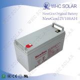 Newgos 12V 100ahの太陽電池の深いサイクルの鉛酸蓄電池