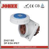 Zh1395 230V 3p Electrical Industrial Socket
