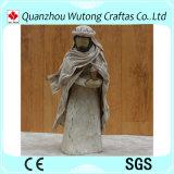 Estátua feita sob encomenda de Jesus do caráter da resina da venda quente