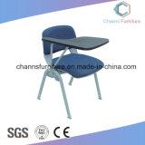 Armlehnen-schwarzer Kunstleder-Büro-Möbel-Ineinander greifen-Trainings-Stuhl