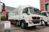 HOWO T5g 340HP 8X4 Zaun-Stange-Ladung-Transport-LKW