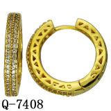 نحاسة مجوهرات نمط إطار حلق مصنع بيع بالجملة