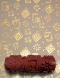 Ролик краски картины роскошной конструкции декоративный