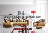 أثاث لازم خشبيّة بيتيّة يعيش غرفة جلد أريكة ([أول-نس215])