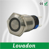 Commutateur de bouton poussoir mécanique de Yueqing DEL RVB