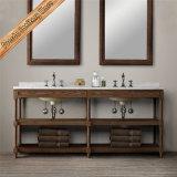 Muebles de madera del baño de la cabina del baño de la vanidad del cuarto de baño de madera sólida de Fed-1995A
