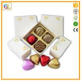 Коробка шоколада коробки подарка упаковки венчания роскошного причудливый сердца форменный