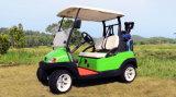 48V 4 Wielen 2 Auto van het Golf van de Chassis van de Aluin Seater de Elektrische