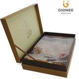 Чувствительные бумажные упаковывая коробки подарка с сатинировкой