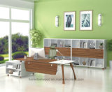 Muebles de madera Oficina de alta tecnología Mesa de oficina ejecutiva Oficina (HF-JO2020)